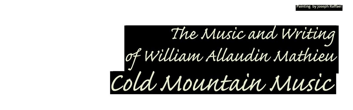 Cold Mountain Music Logo