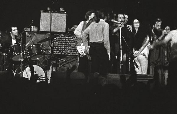 William Mathieu - Winterland, San Francisco with the Sufi Choir and the Grateful Dead - 1971