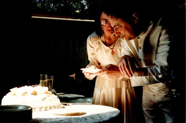 Wedding of Devi and William Allaudin Mathieu, Sami Mahal, Petaluma, California - 1987