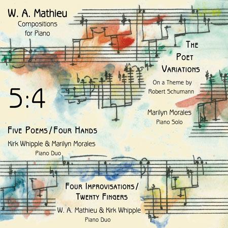 5:4 Piano Compositions - W. A. Mathieu