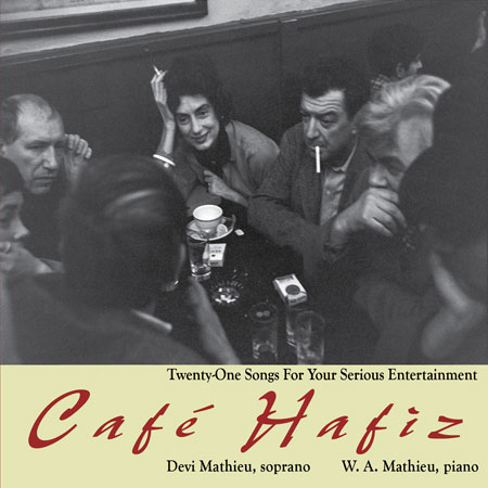 Cafe Hafiz - W. A. Mathieu